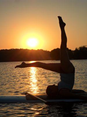 Yoga pilates  .