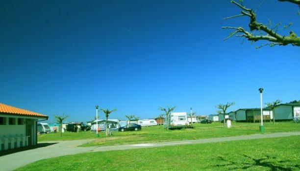 Acampada en Santander